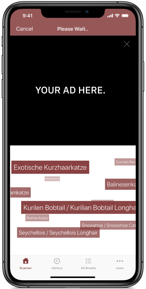 Get your Ad on our Apps