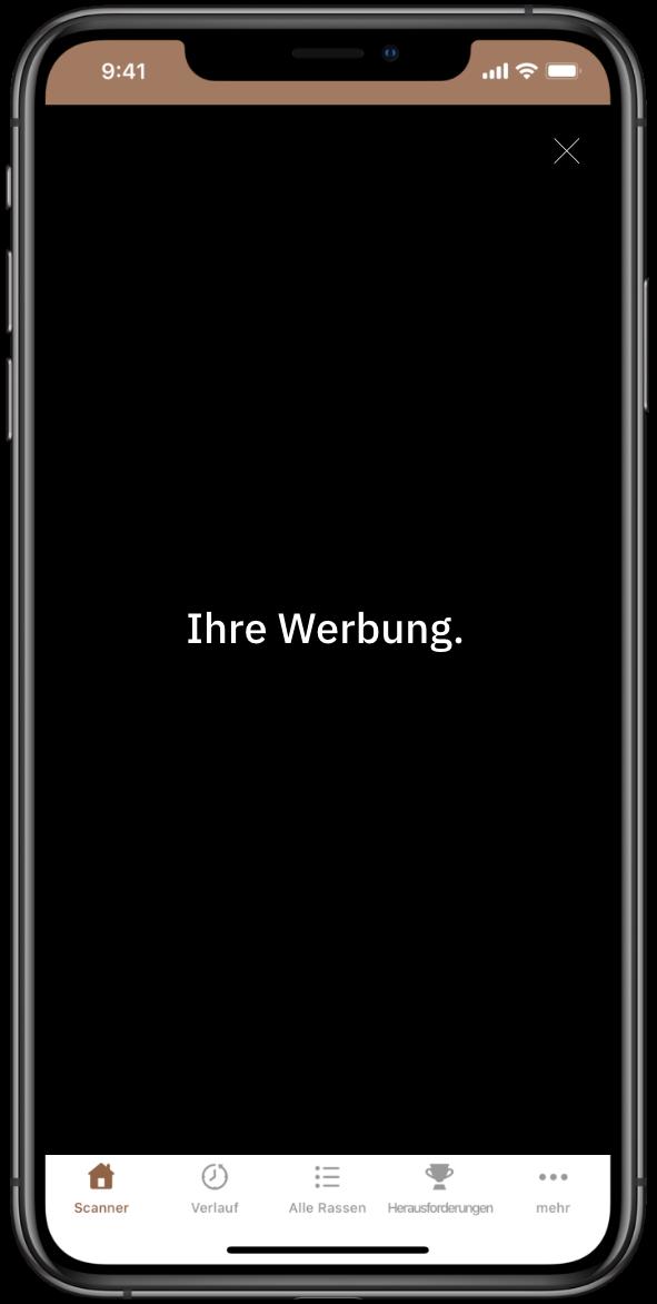 Werbung in unseren Apps